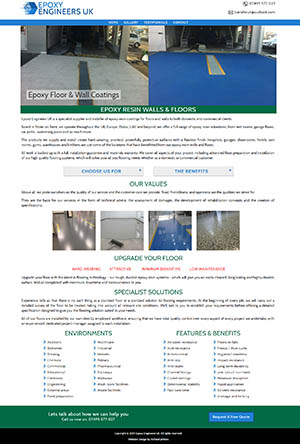 Epoxy Engineers UK Website