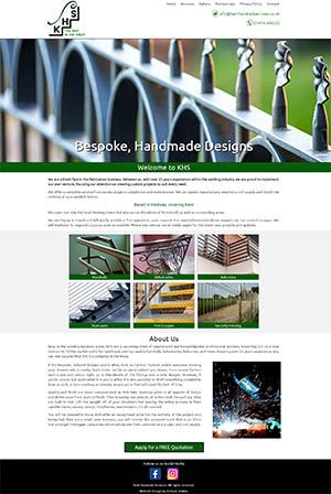 Kent Handrails Website