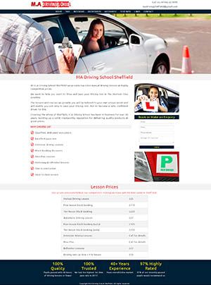 MA Driving Website