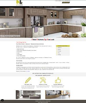New Look Kitchens Website